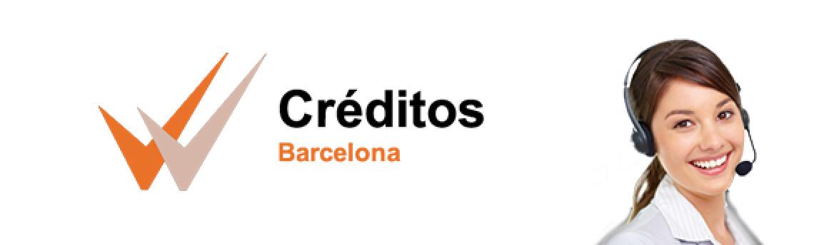 Bienvenidos a Créditos Barcelona